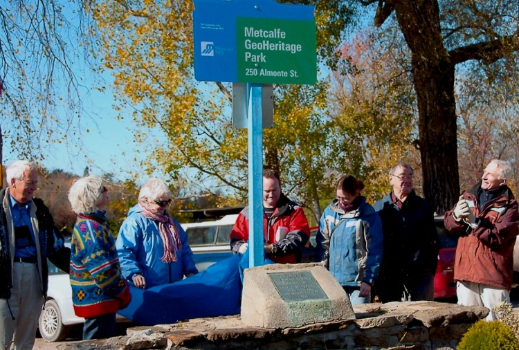 Metcalfe Geoheritage Park Official Opening 2010